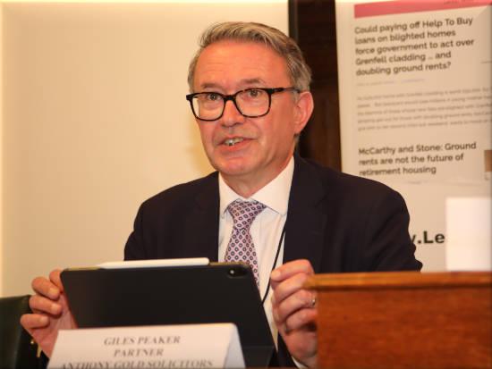 Giles Peaker shared ownership