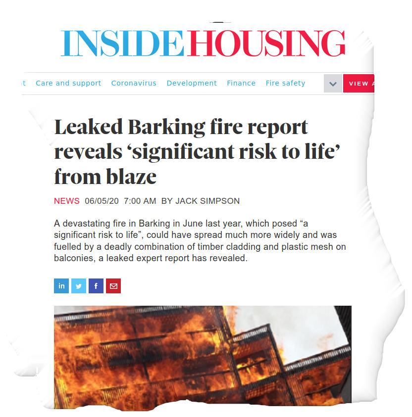 Samuel Garside House fire