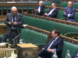 Sir Peter Bottomley furious